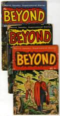 Golden Age (1938-1955):Horror, The Beyond Group (Ace, 1951-54) Condition: Average GD-. Groupcontains #6, 22, 23 (2 copies), and 25. Approximate Overstreet...(Total: 5 Comic Books)