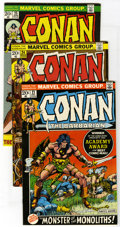Bronze Age (1970-1979):Miscellaneous, Conan the Barbarian Group (Marvel, 1972-77) Condition: AverageVF/NM. Includes #21, #24 (first full Red Sonja story, last Ba...(Total: 26 Comic Books)