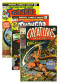 Bronze Age (1970-1979):Horror, Creatures on the Loose Group (Marvel, 1971-75) Condition: AverageVF. Contains #10 (first full appearance of King Kull, Bern...(Total: 15 Comic Books)