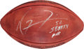 """Football Collectibles:Balls, Ray Lewis """"SBXXXV MVP"""" Signed Football...."""