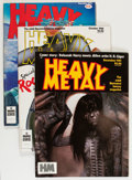 Magazines:Science-Fiction, Heavy Metal Group (HM Communications, 1979-82) Condition: Average VF/NM....