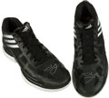 Basketball Collectibles:Others, Hedo Turkoglu Game Worn Signed Shoes....