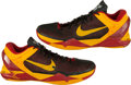 Basketball Collectibles:Others, Dion Waiters Game Worn Signed Shoes....