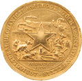 Miscellaneous:Ephemera, Texas State Fair Medal, circa 1871....