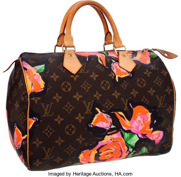 6ecb93f1eef4 Louis Vuitton Limited Edition Monogram Roses by Stephen