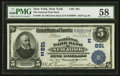 New York, NY - $5 1902 Date Back Fr. 590 The National Park Bank Ch. # (E)891