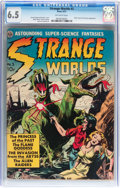 Golden Age (1938-1955):Science Fiction, Strange Worlds #3 (Avon, 1951) CGC FN+ 6.5 Off-white pages....