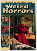 Golden Age (1938-1955):Horror, Weird Horrors #1 (St. John, 1952) Condition: Apparent VF....