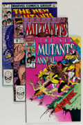 Modern Age (1980-Present):Superhero, The New Mutants #1-100 Near-Complete Run Group (Marvel, 1983-91)Condition: Average NM.... (Total: 107 Comic Books)