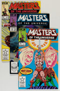 Modern Age (1980-Present):Miscellaneous, Masters of the Universe #1-12 Group (Star/Marvel, 1986-88) Condition: Average NM-.... (Total: 87 Comic Books)