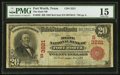National Bank Notes:Texas, Fort Worth, TX - $20 1902 Red Seal Fr. 639 The State NB Ch. # (S)3221. ...