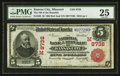 National Bank Notes:Missouri, Kansas City, MO - $5 1902 Red Seal Fr. 589 The NB of the RepublicCh. # (M)8738. ...