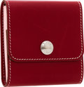 Luxury Accessories:Accessories, Hermes Rouge H Calf Box Leather Post-It Case. ...
