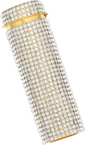 Luxury Accessories:Accessories, Judith Leiber Full Bead Silver Crystal Lifesaver Case. ...