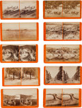 Photography:Stereo Cards, Stereoview: Ten Watkins Series of California Views.... (Total: 10 Items)