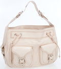 Luxury Accessories:Bags, Marc Jacobs Beige Rose Leather Oversize Hobo Bag. ...