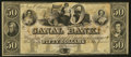 Obsoletes By State:Louisiana, New Orleans, LA- The New Orleans Canal & Banking Company / Canal Bank $50 Remainder G46a. ...