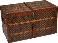 Louis Vuitton Classic Monogram Canvas Steamer Trunk