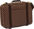Luxury Accessories:Travel/Trunks, Louis Vuitton Damier Canvas Satellite 50 Suitcase with ShoulderStrap. ...