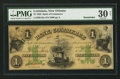 Obsoletes By State:Louisiana, New Orleans, LA- Bank of Commerce $1 May 5, 1862. ...