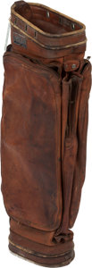 Golf Collectibles:Miscellaneous, 1942 Ryder Cup Team Golf Bag Issued to Sam Snead....