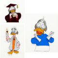 Animation Art:Production Cel, Ludwig Von Drake Production Cels (Walt Disney, 1960s).... (Total: 3Items)