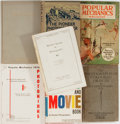 Books:Photography, [Photography]. Group of Seven Books and Magazines on Twentieth Century Photography. Various authors and publishers, 1905-196... (Total: 7 Items)