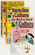 Bronze Age (1970-1979):Cartoon Character, Richie Rich and Cadbury File Copies Group (Harvey, 1971-91)Condition: Average NM-.... (Total: 57 Comic Books)