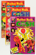 Bronze Age (1970-1979):Cartoon Character, Richie Rich Cash File Copies Group (Harvey, 1974-82) Condition:Average NM-.... (Total: 119 Comic Books)