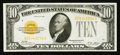 Small Size:Gold Certificates, B-A Block Fr. 2400 $10 1928 Gold Certificate. Very Fine-Extremely Fine.. ...