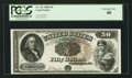 Large Size:Legal Tender Notes, Fr. 161 $50 1880 Legal Tender PCGS Extremely Fine 40.. ...