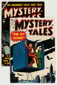 Mystery Tales #19 and 21 Group (Atlas, 1954) Condition: Average VG/FN.... (Total: 2 Comic Books)