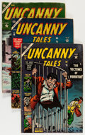 Golden Age (1938-1955):Horror, Uncanny Tales Group (Atlas, 1953-54) Condition: Average GD/VG....(Total: 7 Comic Books)