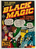 Golden Age (1938-1955):Horror, Black Magic #4 (Prize, 1951) Condition: FN....