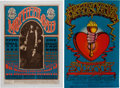 Music Memorabilia:Posters, Big Brother and the Holding Company Concert Poster Group(1967-68).... (Total: 2 Items)