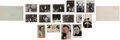 Music Memorabilia:Photos, Elvis Presley Candid Photos and Memorabilia (1960s).... (Total: 17Items)