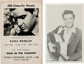 "Music Memorabilia:Documents, Elvis Presley - A World Premiere Program from ""Wild in theCountry.""... (Total: 2 Items)"