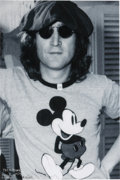 Music Memorabilia:Posters, John Lennon Limited Edition Palm Beach Photo Print #10/100...