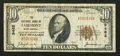 National Bank Notes:West Virginia, Fairmont, WV - $10 1929 Ty. 1 The NB of Fairmont Ch. # 9462. ...