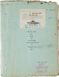 "Movie/TV Memorabilia:Documents, A Lon Chaney-Related Script from ""The Big City.""..."