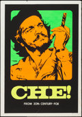 "Movie Posters:Drama, Che! (20th Century Fox, 1969). Day-Glo Silkscreen One Sheet (27.5""X 39.5"") Advance. Drama.. ..."