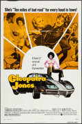 "Movie Posters:Blaxploitation, Cleopatra Jones (Warner Brothers, 1973). One Sheet (27"" X 41"")Style B. Blaxploitation.. ..."