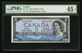 Canadian Currency: , BC-31b 1954 $5 Devil's Face. ...