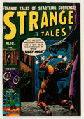 Golden Age (1938-1955):Horror, Strange Tales #6 (Atlas, 1952) Condition: FN-....
