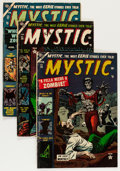 Golden Age (1938-1955):Horror, Mystic Group (Atlas, 1953-54) Condition: Average VG/FN.... (Total:6 Comic Books)