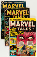 Golden Age (1938-1955):Horror, Marvel Tales Group (Atlas, 1951-54) Condition: Average GD/VG....(Total: 5 Comic Books)