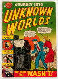 Golden Age (1938-1955):Horror, Journey Into Unknown Worlds #7 (Atlas, 1951) Condition: VG....