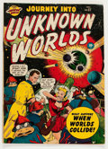 Golden Age (1938-1955):Science Fiction, Journey Into Unknown Worlds #37 (#2) (Atlas, 1950) Condition:VG-....
