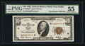Small Size:Federal Reserve Bank Notes, Fr. 1860-K $10 1929 Federal Reserve Bank Note. PMG About Uncirculated 55.. ...