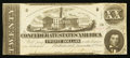 Confederate Notes:1862 Issues, T51 $20 1862 PF-14 Cr. UNL.. ...